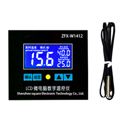 ZFX-W1412 Microcomputer Digital Temperature Controller Intelligent High Accuracy Temp Control Thermostat Temperature Controller