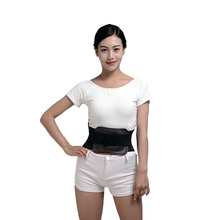 Leather Self Heating Pain Relief Lumbar Lower Back Brace Protective equipment  Adjustable Waist Straps Therapy