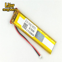 plug 1.5-2P 3.7 V 702890 703090 2800mah factory high quality lithium polymer li-ion rechargeable battery lipo battery