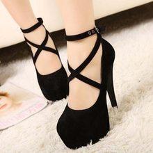2019 nova moda outono novo tamanho grande sapatos femininos salto alto 11 cm camurça preta sapatos de casamento à prova dwaterproof água