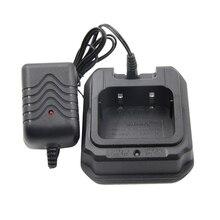 Портативная рация зарядное устройство ABS водонепроницаемый с цоколем черный практичная замена Простая установка прочный прямой крой для BF-UV9R Plus