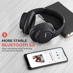 Image 2 - Mpow h7 pro sem fio bluetooth 5.0 fone de ouvido hi fi estéreo sons suporte carga rápida 20 h playtime para iphone 11 huawei p30 lite