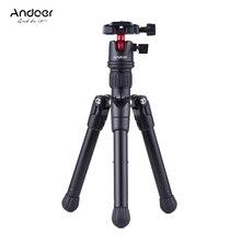 Andoer мини штатив Стенд настольный путешествия с шаровой головкой быстросъемная пластина портативный легкий для Canon Nikon sony DSLR камера