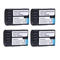 4X 1250mAH D Li90 D Li90 DLi90 Rechargeable Camera Li ion Battery for Pentax K 5 II K 5 IIS K 01 K 7 K 5 K 3 K 3 II 645D 645Z Z1