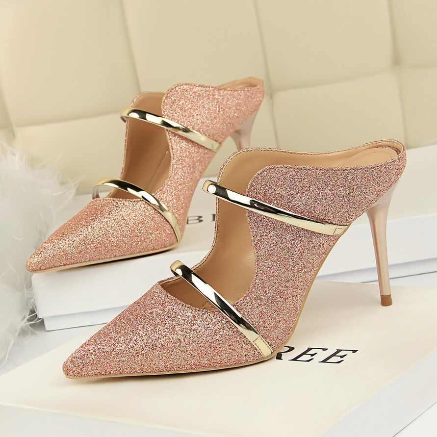 2020 Women Summer 9cm High Heels