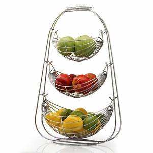 3 Tier Fruit Basket Bowl Holde