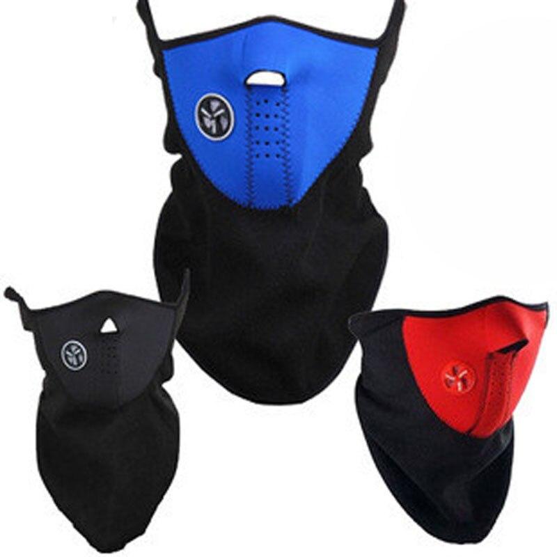 Страйкбольная Теплая Флисовая велосипедная полумаска для лица, защитный колпак для лица, для велоспорта, лыж, спорта на открытом воздухе, зи...