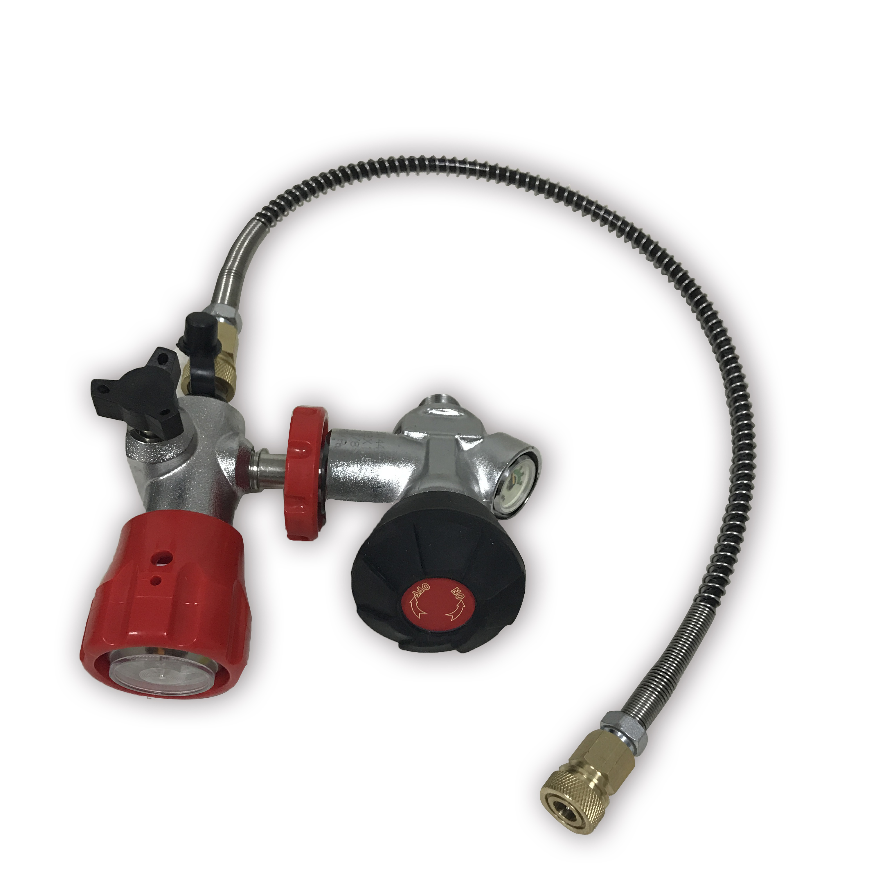 AC301 Pcp Tank Valve With Filling Station Used Filled With Compressed Air For 300Bar Pcp Air Rifle Cylinder/Paintball Tank