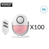 KERUI P6 PIR Motion Alarm Door Bell Home Security Burglar Sensor Detector Welcome Doorbell Alarm Systems