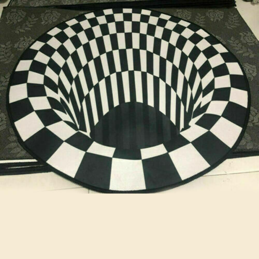 D-coration-de-la-maison-salon-couloir-tapis-noir-blanc-grille-impression-3D-Illusion-Vortex-sans (1)