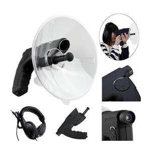 Monocular Headphone Telescope Sound-Recorder 8x-Zoom Digital Outdoor