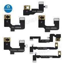 Jc dot projetor cabo flexível para jc v1s dot placa do projetor jc dot matriz de detecção para iphone face id não trabalho fix programador