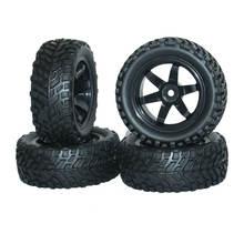 4 шт износостойкие резиновые шины для радиоуправляемых автомобилей