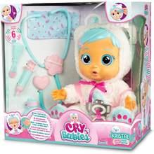 Muñeca de vinilo de llanto sorpresa para niños, juguete de simulación de llanto llorón, con botella de leche, regalo de Navidad, música de títere