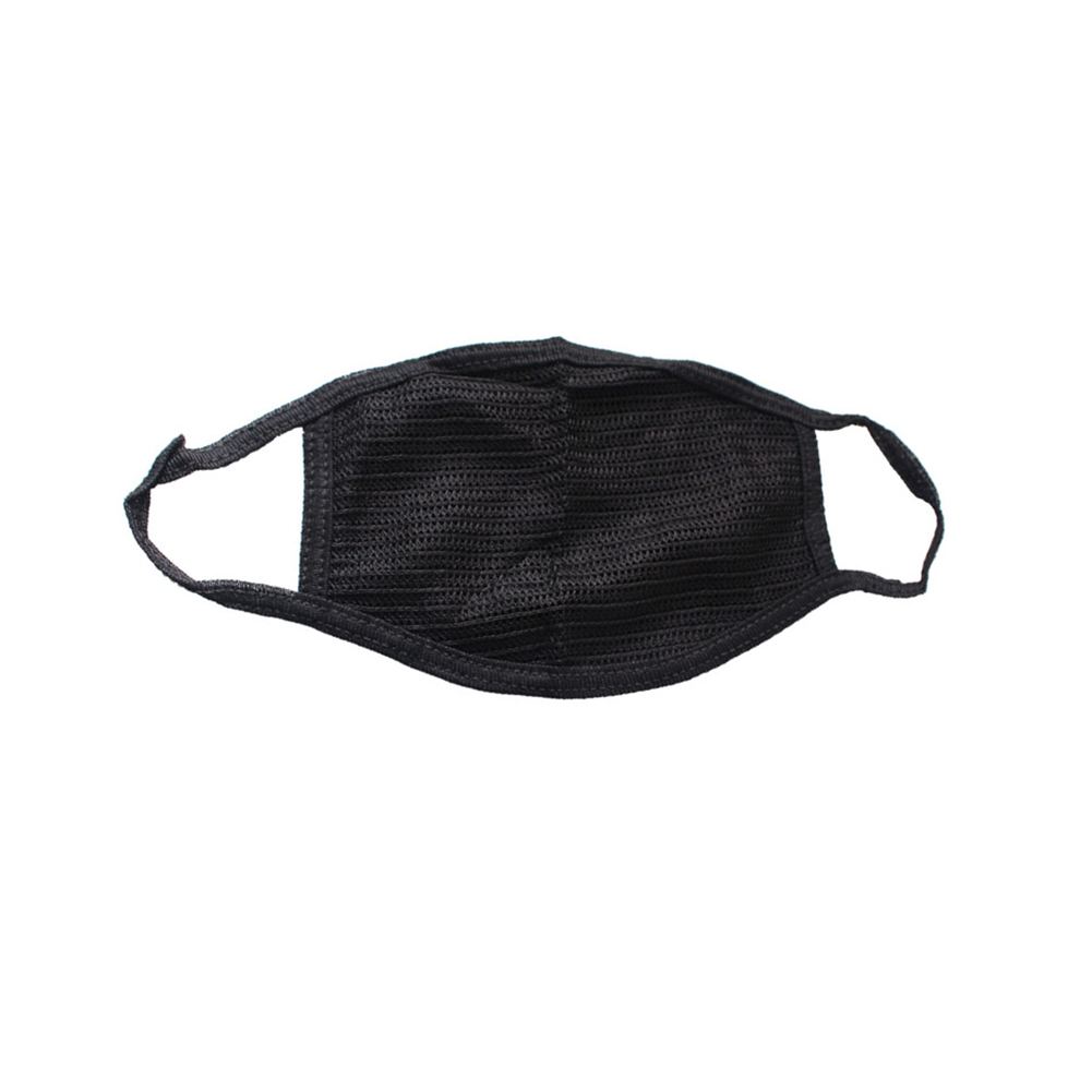 Pm2.5 Black Mouth Mask Anti Dust Mask Activated Carbon Windproof Mouth-muffle Bacteria Proof Mouth Face Masks Care