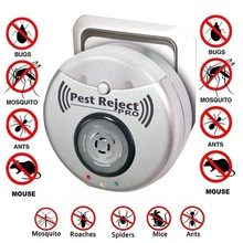 Mosquito-Fly-Killer Pest Ultrasonic Reject-Pro Square Anti-Insect Coverage OF Repeller