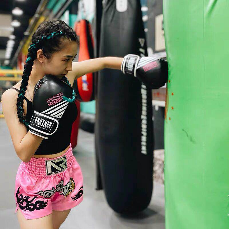 Erkek Kick boks MMA şort çocuk Boys kickboks mücadele Sanda Muay Thai pantolon kadın spor çocuk Grappling spor sandıklar