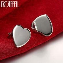 Женские серьги гвоздики doteffil из стерлингового серебра 925