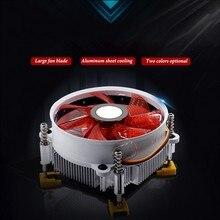 Computer CPU Air Cooling Fan Quite Radiator Cooler For AMD Intel 1155 775 цена в Москве и Питере
