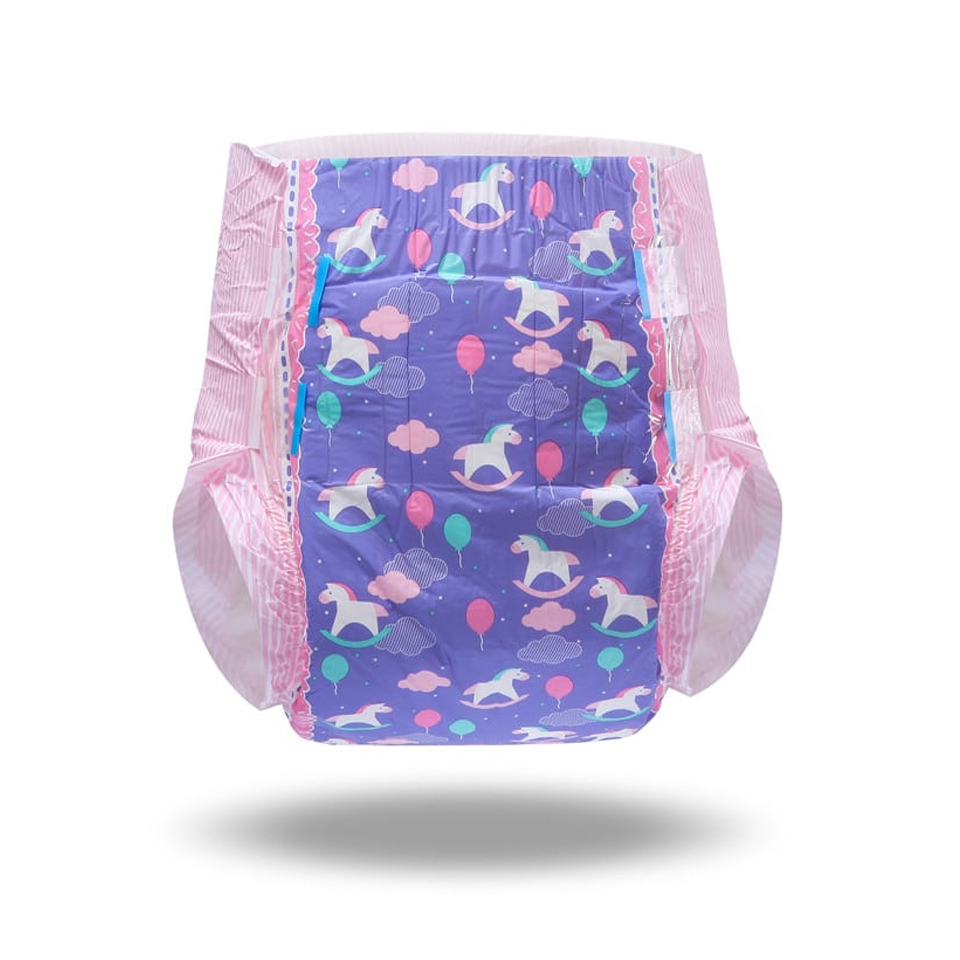 New Winter Style 5000ML Diaper Nappie Adult Baby Diaper Trojan Pictuer Large Size Sexy Diaper Pant For 6Pcs In A Pack
