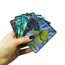 60PCS/LOT Pokemon Card English EX Flash Cards No Repetition 60 Different Cards Game Collection Cards Christmas Gift