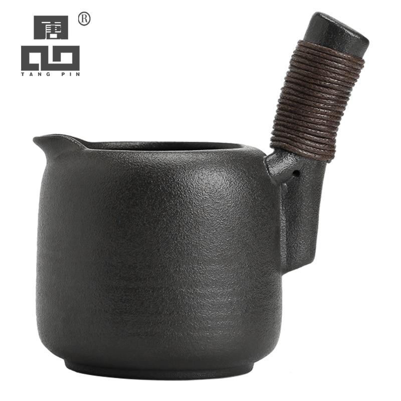 TANGPIN Chinese Ceramic Tea Pitchers Tea Infusers Chahai Gongdaobei Kung Fu Tea Accessories 300ml