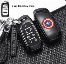 Abs caso chave do carro capa titular escudo para changan cs75 plus cs85 coupe cs95 2017 2018 2019 acessórios interiores