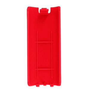 Image 5 - 100 개/몫 5 색 배터리 커버 케이스 배터리 백 도어 쉘 커버 wii 리모컨