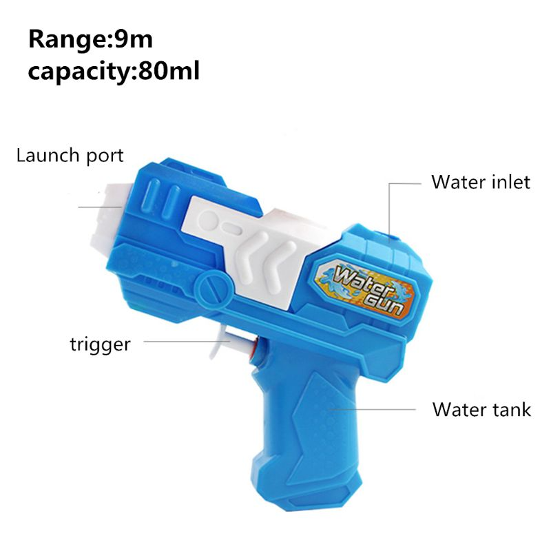 Future Warrior Blaster Water Gun Toy Kids Beach Toy Pistol Spray Water Toys Summer Pool Party Favors Q6PD
