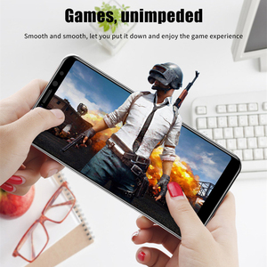 Image 3 - 4in1 Tempered Glass For Huawei P Smart Screen Protector for Huawei P Smart 2018 Full Cover PSmart Z Y5P Y6P Y8S Camera Protector