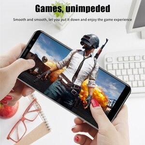 Image 3 - 4w1 szkło hartowane dla Huawei P inteligentny ochraniacz ekranu dla Huawei P inteligentny 2018 pełna pokrywa PSmart Z Y5P Y6P Y8S ochraniacz kamery