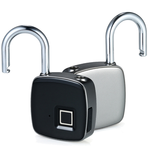 Image 2 - スマートロックキーレス指紋ロック IP65 防水 cerradura inteligente 盗難防止セキュリティ南京錠ドア荷物ケースロック