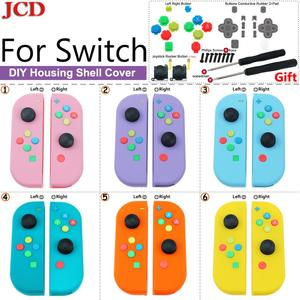 Image 1 - JCD DIY Replacement Cover Housing Shell for Nintend for Switch for Joy Con Controller with Screwdriver Joystick Rocker Button