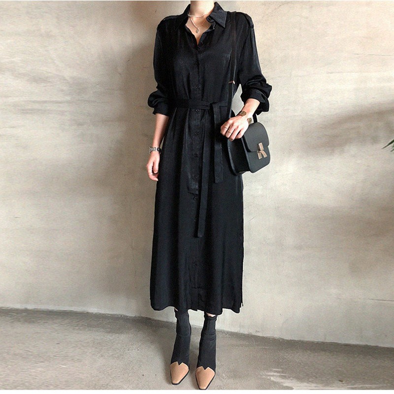 Women Dress Spring And Autumm Pleated Fashion Plaid Slim High Wasit Temperament Office Belt Elegent Dresses Casual Lady Female