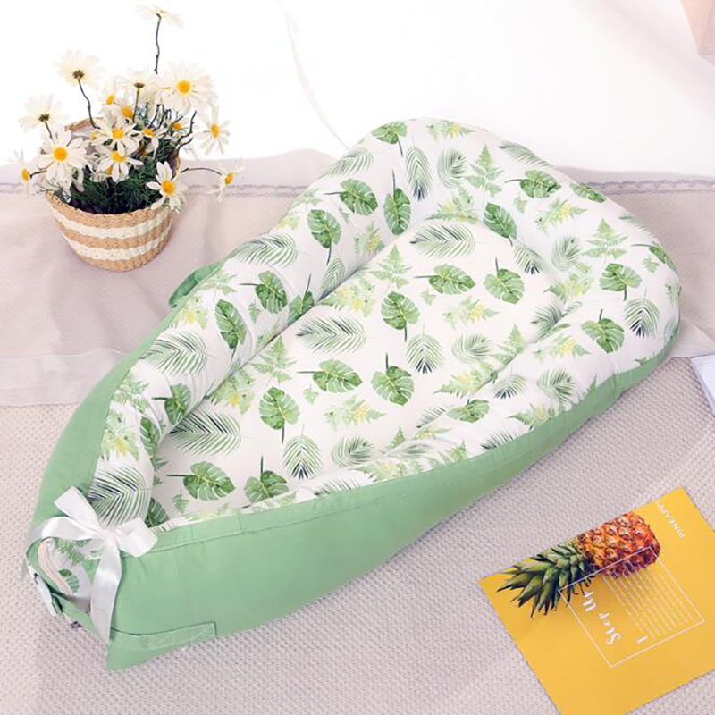 Baby Care Travel Crib Portable Infant Bed Bumpers Cotton Newborn Sleeping Basket Mattress Protection Pad Foldable YAN008
