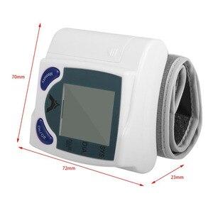 Image 2 - Gesundheit Pflege automatische blutdruckmessgerät Handgelenk Manschette blutdruck meter Pulse Monitor maschine Herz Beat Meter tester analysator