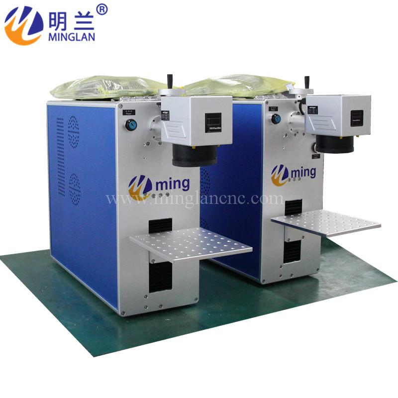 IPG Raycus JPT 20w 30w 50w Fiber Laser Marking Machine For Metal Marking Ring Name Tag Aluminum Copper Silver Gold