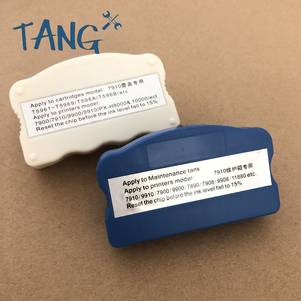 Ink Cartridge Maintenance Tank Chip Resetter For <font><b>Epson</b></font> Stylus Pro 7700 <font><b>9700</b></font> 7710 9710 7890 9890 7908 9908 7900 9900 7910 9910 image