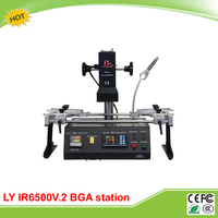 LY IR6500 V.2 infrared BGA solder station bigger preheat area 240*200mm rework machine free tax to Russia