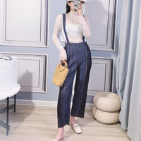 Two Pieces Clothing Set Of Women's 2020 New One piece Trouser Bottoms Shirts