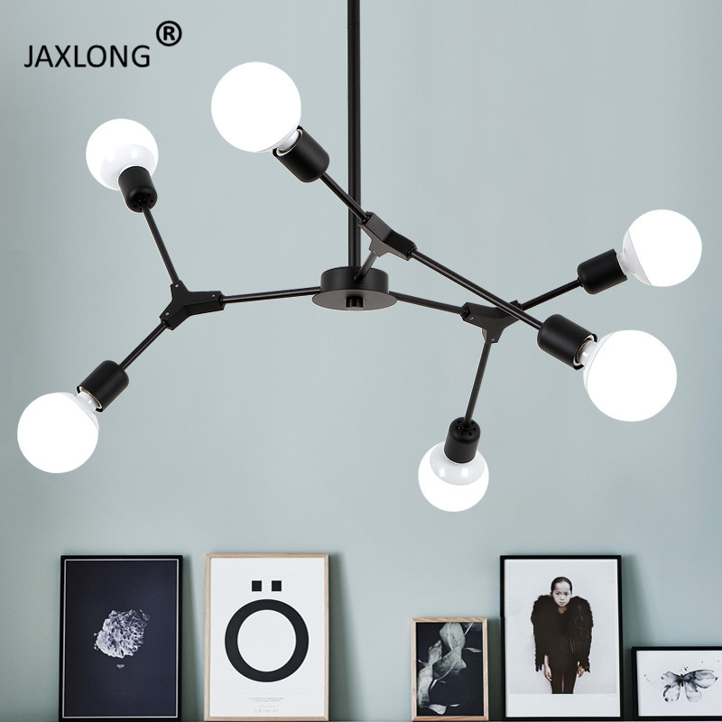 Nordic Style Chandelier ceiling lamp Restaurant Lighting Living Room Bedroom Design lustre Modern Home hanging Light Fixture|Chandeliers| |  - title=