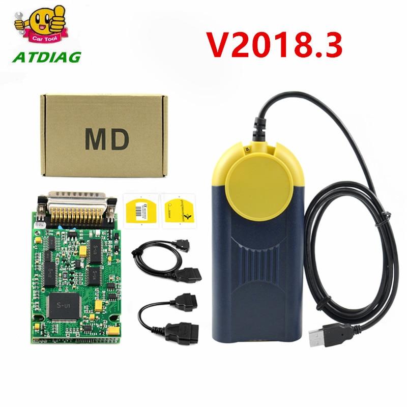 Устройство для диагностики Multidiag, с поддержкой нескольких точек доступа, J2534, v2018.3, интерфейс OBD2, Multidiag, J2534