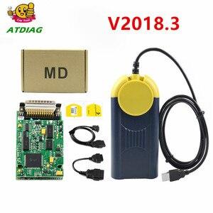 Multi-Diag Multi Diag Access J2534 v2018.3 interface OBD2 Device Multidiag J2534 with free shipping Diagnostic tool(China)
