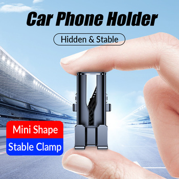 New Gravity car holder for phone air vent mount clip cell mobile stand in car Smartphone GPS support For iphone 11 xiaomi