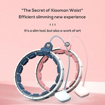 Magnetic Smart Hoola Hoop Weighted Adjustable Easy Hoops Waist Trainer Slimming Aros Gym Home Fitness Equipment Sport Hoops 3