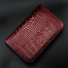 Étui de support de pochette de cisaillement de peigne de cheveux rouge noir pour les ciseaux de 6 pouces