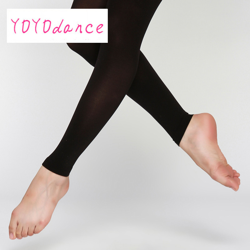 Wholesale SA To XLA Delicate Ballet Dancing Stocking Soft Leggings Footless Tights Lady Dance Tights Panty-Hose