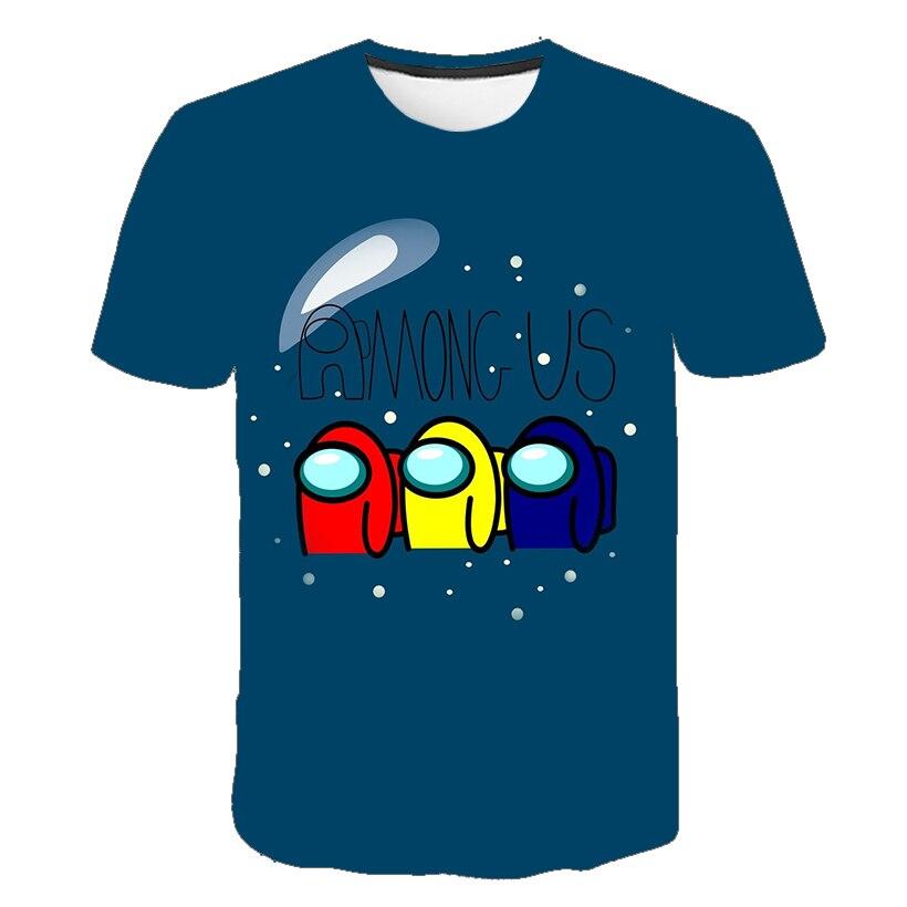 Футболка для мальчиков и девочек, милые летние топы с мультяшным графическим рисунком, Забавная детская рубашка в стиле Харадзюку, «Игра ср...