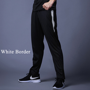 New Jogging Pants Men Breathable Sport Sweatpants Zip Pocket Training Pants Gym Workout Pants Athletic Soccer  Running Trousers 3