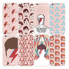Soft Silicone Transparent TPU David Bowie Case Blackstar Starman Cool Painting for Apple iphone X XS MAX XR 5s SE 6s 7 8 plus
